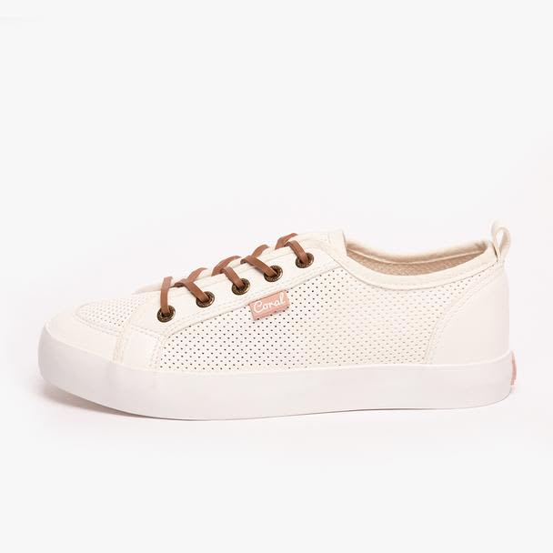 Tenis Coral Page White